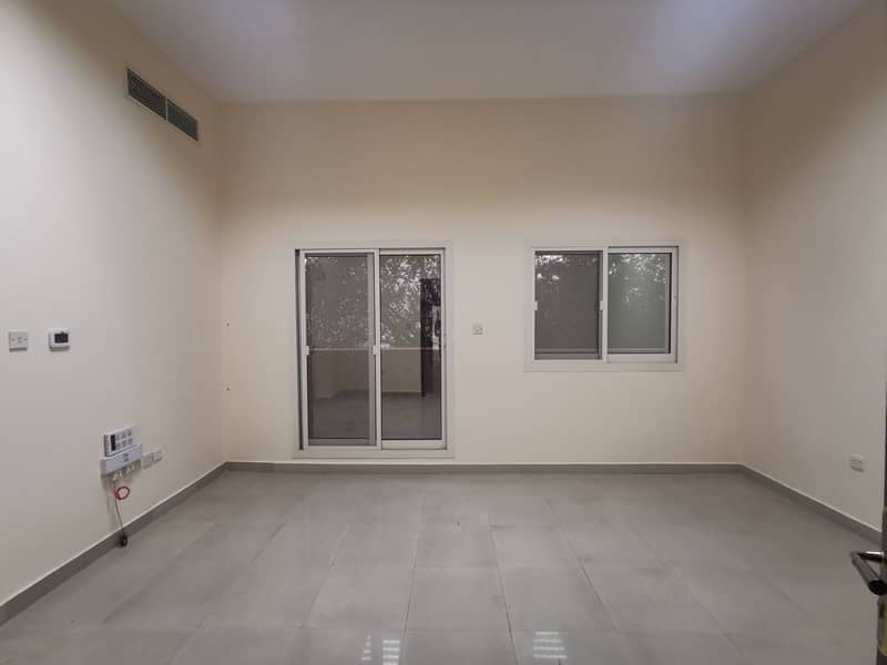 Spacious and Clean Studio with Balcony & Central A/C in Al Nahyan for 2800/month Brand new Villa