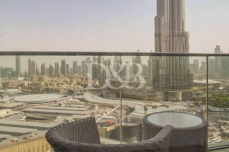 2 Full Burj Khalifa View | Serviced | Modern