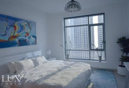شقة 1 غرفة نوم للايجار في دبي مارينا، دبي - Marina Specialist|Fresh and Bright|Upgraded |Emaar facilities|Move in today