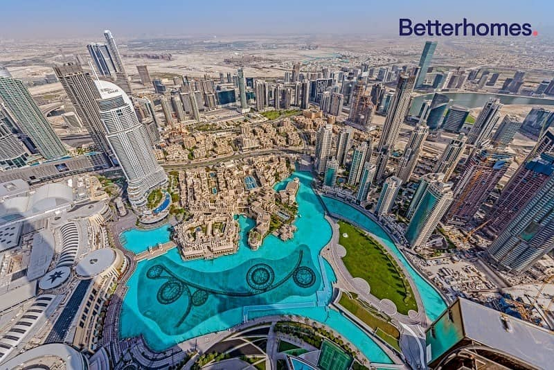 Top Penthouse   Full Fountain View   Vacant 