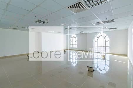 Well-lit fitted office available in Dome
