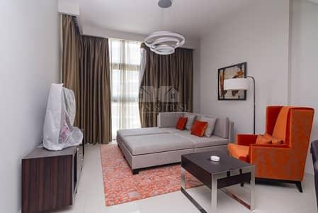 فلیٹ 1 غرفة نوم للايجار في داماك هيلز (أكويا من داماك)، دبي - Large Furnished Corner Apartment with Golf View