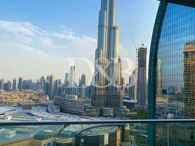 فلیٹ 2 غرفة نوم للايجار في وسط مدينة دبي، دبي - All Bills Inc | Burj Khalifa View | Serviced Apt