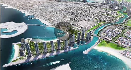 Free hold 2B+G+4P+22 installment for 3 years in Jumeirah Bay Islands
