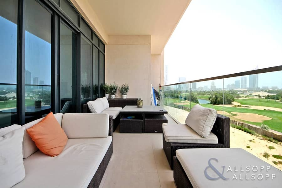 Modern | 3 Bed + Maid | Full Golf View