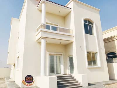 5 Bedroom Villa for Rent in Al Raqaib, Ajman - Villa for rent in Al-Raqayeb, the first resident of the neighbor street