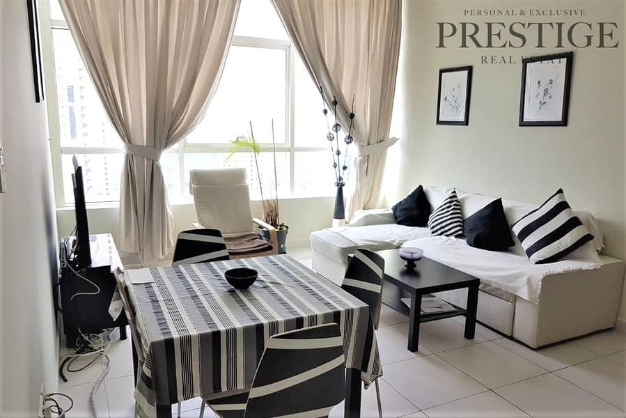 2 Close To Metro 2 Bed|Fully Furnished |Marina View |