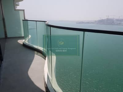 1 Bedroom Apartment for Rent in Al Raha Beach, Abu Dhabi - Brand New! Full sea view with big balcony