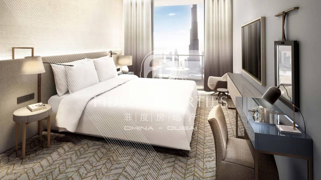 2 Best Price|Full Burj Khalifa View | Higher Floor
