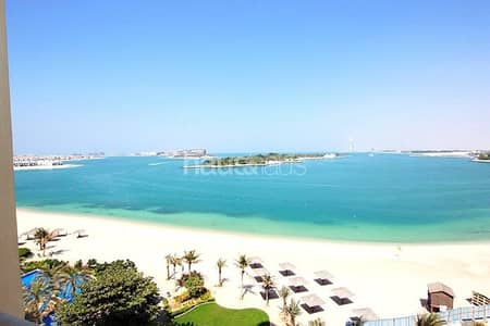 2 Bedroom Flat for Rent in Palm Jumeirah, Dubai - Full sea views | F type | Biggest 2BR layout
