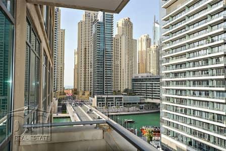 شقة 2 غرفة نوم للايجار في دبي مارينا، دبي - Marina View | 2 Bed + Study | Chiller Free