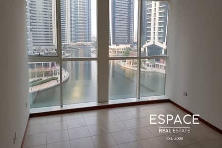 فلیٹ 2 غرفة نوم للايجار في أبراج بحيرات الجميرا، دبي - Unfurnished | Low floor | Near Damac Metro station