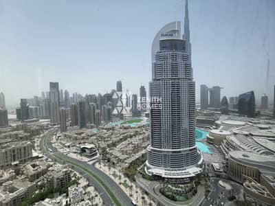 فلیٹ 2 غرفة نوم للايجار في وسط مدينة دبي، دبي - High Floor   Brand New   Chiller Free  
