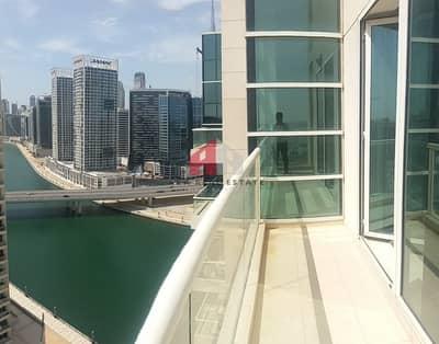 شقة 1 غرفة نوم للايجار في الخليج التجاري، دبي - 12 Checks|| Low Floor || Well maintained