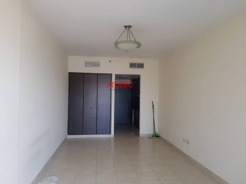 2 full facility large studio with balcony for rent in warsan 4-01