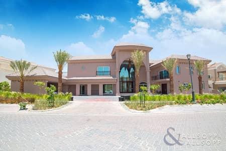 6 Bedroom Villa for Rent in Jumeirah Golf Estate, Dubai - Six Bedroom   Mansion   Huge Plot + Pool
