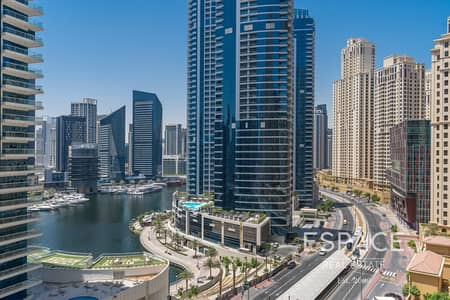 3 Bedroom Flat for Sale in Jumeirah Beach Residence (JBR), Dubai - Vacant and Ready to Move-in | Marina and Community Pool View