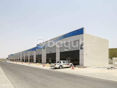 Showroom for Rent in Industrial Area, Sharjah - Brand new Showrooms & shops with Mezzanine available in Prime Location of Sharjah, Maliha Road, Industrial Area No 18. (One Month Free)