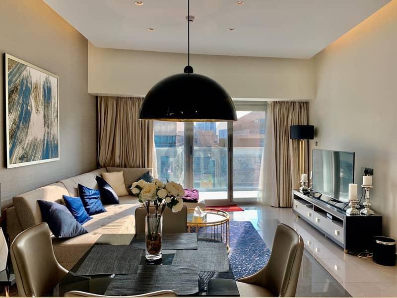 شقة في داماك ميزون ماجستين الخليج التجاري 2 غرف 80000 درهم - 4663409