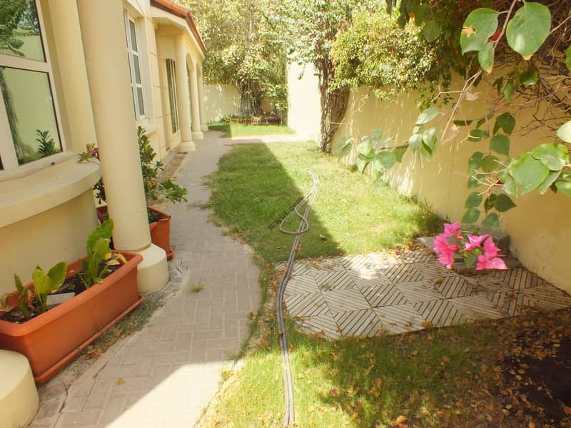 very space compound villa in jumeirah 3 rent is 230k