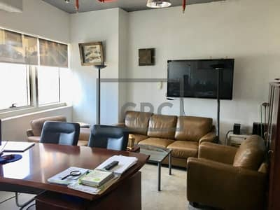 Office for Sale in Jumeirah Lake Towers (JLT), Dubai - Fitted office with Marina View | Near Metro