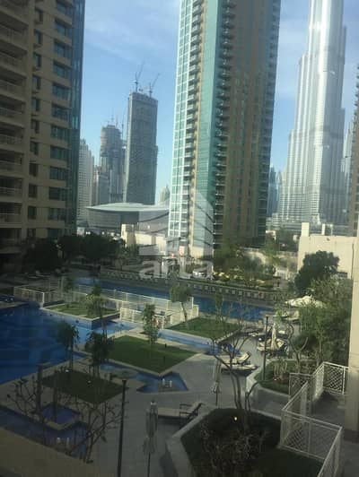 3 Bedroom Apartment for Rent in Business Bay, Dubai - City with Pool View| Balcony | Open for viewing