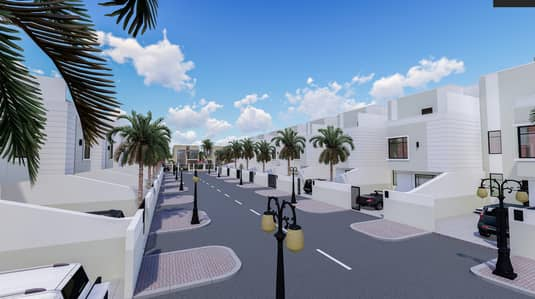 Residential lands for sale by owner -  installments over 24 months - great location - all services - no fees - near the citizens' villas, Al Zahia