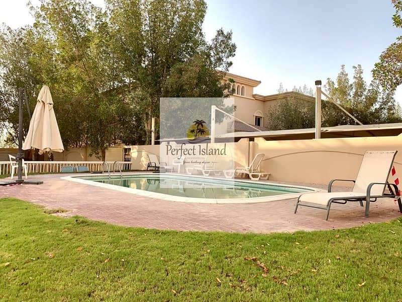 2 Corner Luxury 3 BR + M | Garden | Yard | Compound with Pool