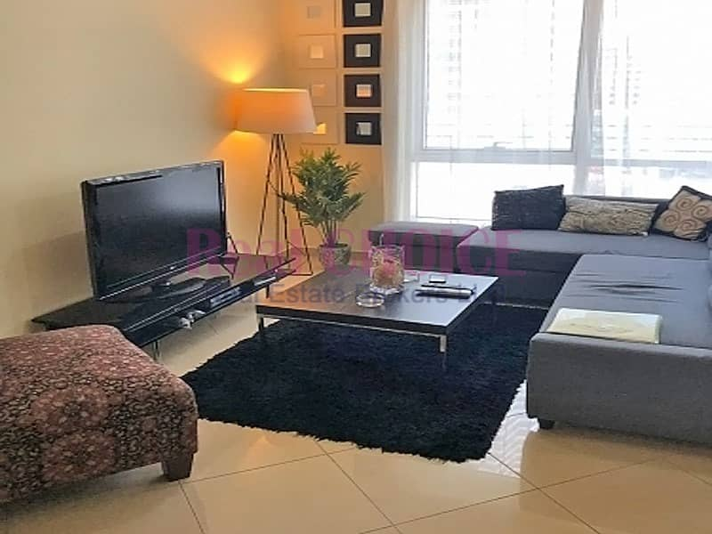 2 Fully furnished flat with chiller free and less price