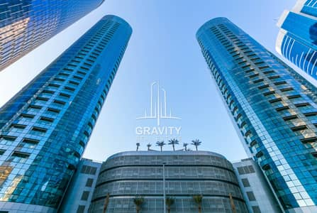 2 Bedroom Apartment for Rent in Al Reem Island, Abu Dhabi - High Floor Apt Unit W/ Kitchen Appliances