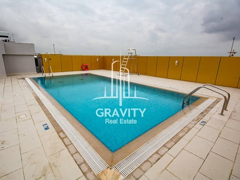 2 Limited units! Residential flat for rent in Khalifa City
