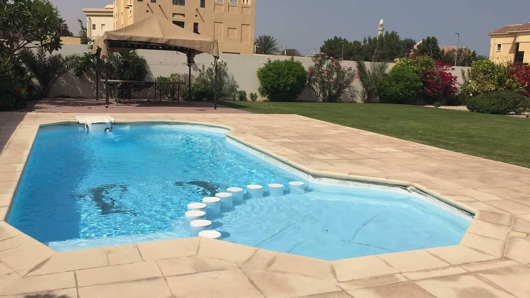 56 6 BHK Villa | Al Barsha 2 | With Pool And Garden