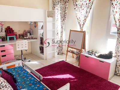 2 Bedroom Villa for Sale in The Springs, Dubai - RENTED | 4M Road View | 2BHK Plus Study Room