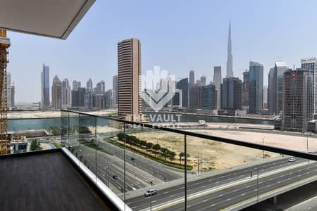 1 Bedroom Flat for Rent in Business Bay, Dubai - Spacious Unit | Huge Balcony with Burj Khalifa View