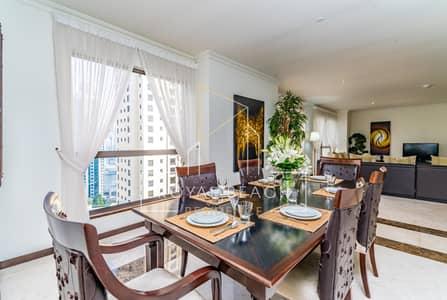 شقة 3 غرف نوم للايجار في جميرا بيتش ريزيدنس، دبي - 3 MONTHS FREE - Luxury Residence