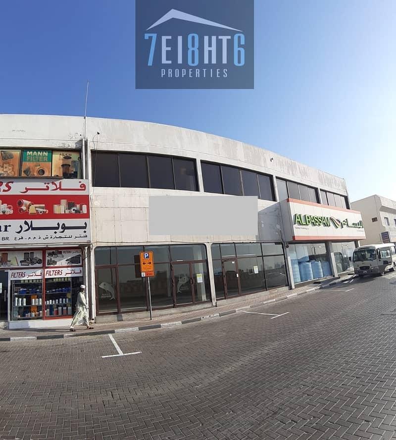 10 700 sq ft showroom for rent in Ras Al Khor