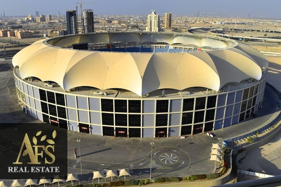 2 Stadium View | Spacious Apartment + Storage | Sports City