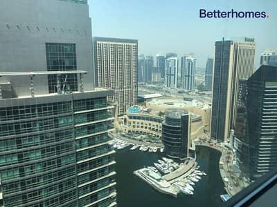 1 Bedroom Flat for Rent in Dubai Marina, Dubai - High Floor |Partial marina/ Sea View | Chiller free