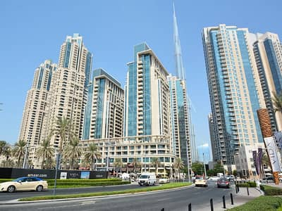 2 Bedroom Flat for Sale in Downtown Dubai, Dubai - Decent Layout | Partial BK View| Low Floor