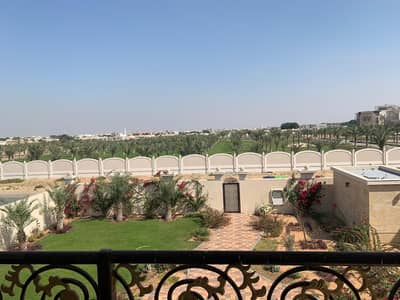 6 Bedroom Villa for Sale in Al Noaf, Sharjah - For sale, Sharjah, Al Nouf 4, a new area, the first inhabitant of an area of 17,000 feet, an external stone for the villa