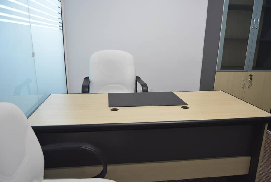 Executive office in Burjuman 120 SQFT with all utilities