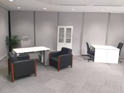 Office for Rent in Bur Dubai, Dubai - Spacious  ll Bright ll Panoramic View ll Suitable for 10 Staff ll All Inclusive