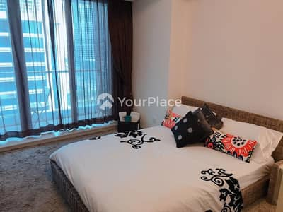 Studio for Rent in Jumeirah Lake Towers (JLT), Dubai - Near Metro Fully Furnished with Balcony