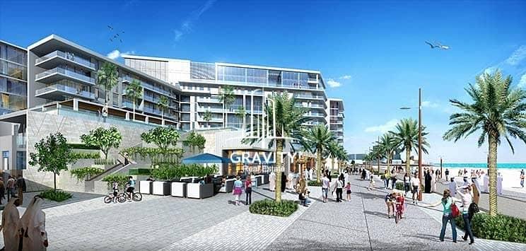 10 High Class 1BR Duplex Apartment W/ Partial Sea View