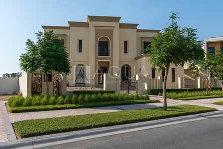 8 Bedroom Villa for Sale in Dubai Hills Estate, Dubai - Classic Villa on Number 1 Street In Dubai