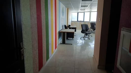 Office for Rent in Ajman Downtown, Ajman - LOW PRICE & SEA VIEW OFFICE FOR RENT IN FALCON TOWER
