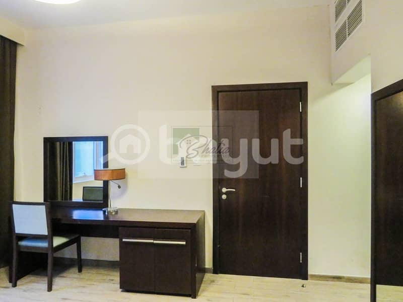 10 6 Payments: Furnished Studio with Free W/E Wifi & All Facilities