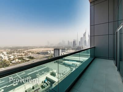 3 Bedroom Flat for Sale in World Trade Centre, Dubai - High Floor | Zabeel Palace View | Vacant