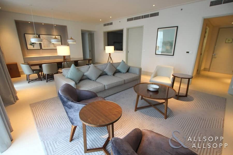 Burj Khalifa view | High Floor | Three Bed