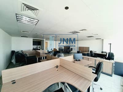 Fitted &Furnished Office | Low Floor | Lake View